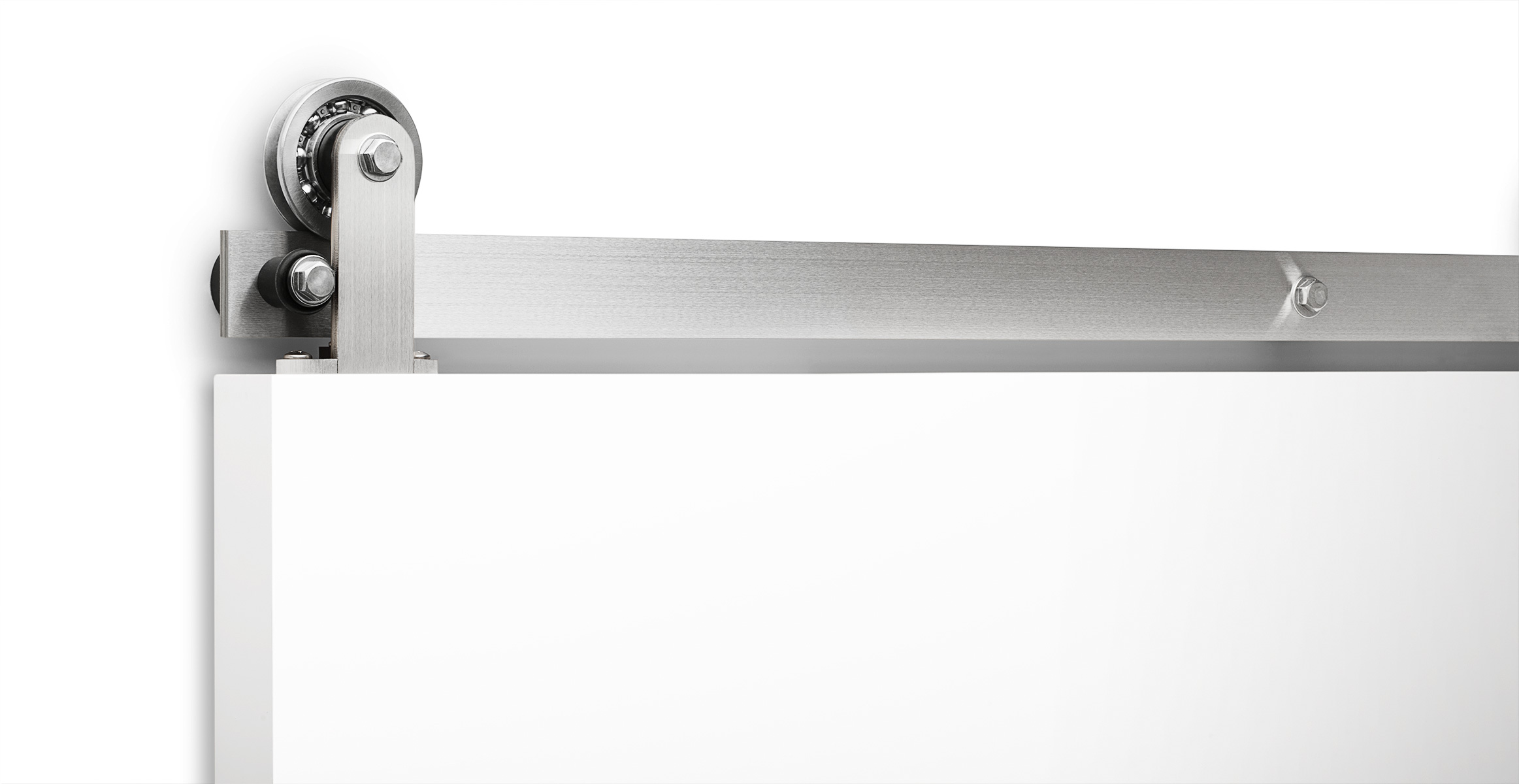 Axel-flat-track-sliding-barn-door-hardware-in-stainless-steel